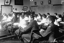 Chemawa Indian School  / The oldest continuously operating Native American boarding school in the United States, opened on February 25, 1880 in Forest Grove, Oregon and moved to its location in Salem, Oregon in June 1885.  Historical photos from Oregon State Library's special collections photograph collection.