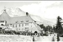 Timberline Lodge / Historical photographs from Oregon State Library's special collections photograph collection. / by Oregon State Library