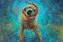 Dog Art / Because dogs really are the best subject