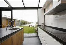 Keuken / Laat je inspireren door de prachtige projecten op www.walhalla.com voor het bouwen, verbouwen en inrichten van je keuken.