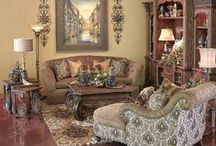 tuscany decorating luv this style / by Minerva Munguia