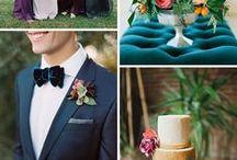 ślub / wedding, wedding ideas, wedding cakes, rings, colors, figurines