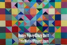 Patchwork Quilts / Find beautiful photos of patchwork quilts and tutorials for piecing many beautiful quilt projects. / by LeahDay.com