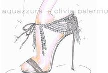 Olivia Palermo X AQUAZZURA / AQUAZZURA and Olivia Palermo have joined forces to create an exclusive capsule collection, available at selected retailers world-wide from September 2014