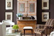 :: paint colour - brown ::