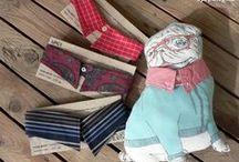 My Upcy / My own creations from men's shirt, necktie, left-over yarn... Saját alkotások férfi ing, nyakkendő, maradék fonalak felhasználásával.