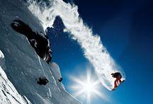 • SNOWBOARDING •