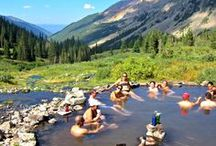 Hot Springs in Colorado