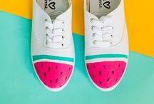 Gyümölcsöző kreativitás - Summer Fruit DIY / Csináld magad és továbbhasznosított gyümölcs ötletek. Upcycled and DIY fruit.