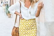 Splash of Spring Color! / Get ready for spring by putting some color in those work outfits!
