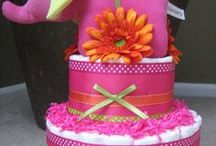 Baby Shower Ideas & Cakes / Baby shower cakes and decor ideas / by Caroldene Woodroffe