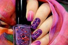 Nails & Toes Designs / Ideas for nail colors and toe designs / by Caroldene Woodroffe