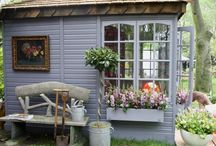 Garden buildings / Somewhere to relax, shelter from the weather or a nice little garden hideaway