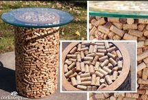 """•• Corky-Ness •• / While millions upon millions of corks of various types are discarded annually, we wanted to bring to you """"Corky-Ness"""" - our collection of all *unique* ways for repurposing corks! (...and if you are anything like us, you will soon become obsessed with collecting them...)  #winecorks"""