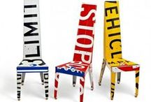•• Recycled Chairs + Seating ••