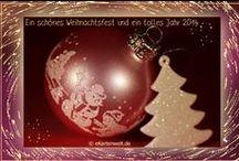 Weihnachtskarten / Frohe Weihnachten, Weihnachtskarten mit Djabbi Teddy