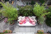 Roof gardens & balconies. / Inspiring roof gardens & balconies