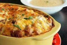 casserole recipes / by Becky Jones
