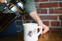 Coffeeshops / Cafeér hvor jeg skal nyte bøker og kaffé.