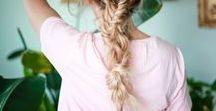 hair styles / hair styles and inspiration for short hair, medium hair and long hair. braids, cuts and tutorials!