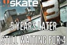 """Skate Shwag / By """"swag"""", I'm using it as """"free stuff""""... Before the word swagger was dumbed down, it used to be that you could go to a skateboarding demo to get promotional hand-outs. T-shirts, decks, whatever the pros could hand out or the companies wanted to promote. / by Skot Silver"""