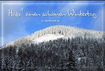 Winter / Grußkarten für den Winter, Winterbilder