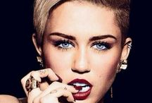 Miley Cyrus  / Miley Cyrus... One of my biggest addictions every love this women without her music my life is incomplete  / by Barrie Wilson