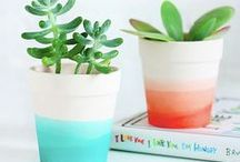 DIY / DIY crafts and projects for your home, wall and self!