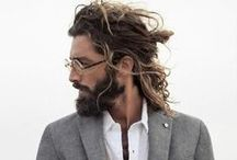 Beard and hairstyles / Lumberjack style, beards, mustaches and hairstyle, beards accessories