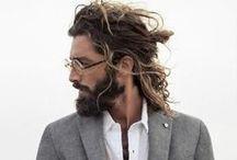 Beard and hairstyles / Lumberjack style, beards, mustaches and hairstyle, beards accessories