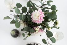 ENTERTAINING AT HOME / Beautiful dinner party settings to recreate at home.