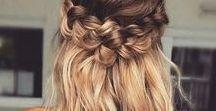 braided hair styles / Braided hairstyles - fishtail, dutch braid, french braid