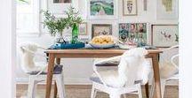 dining room decor / Dining room decor inspiration.