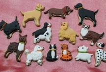 Puppies Dogs Kittens and Cats Cookie Cutters  / American Tradition Cookie Cutters Manufacturer and retailer of fine quality, low price, tin cookie cutters. The home of the $0.90 Cookie Cutters #usa #manufacturer #CookieCutters #Kitchen #Baking #Cookies