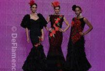 Moda Flamenca / Trajes de flamenca / Moda Flamenca, fotografías de los principales pasarelas, Simof, We Love Flamenco, Psarela Jerez... Con los principales diseñadores de Trajes de Flamenca.