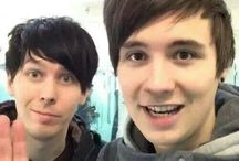 Dan Howell and Phil Lester / by GirlWithAMonocle