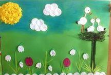 Tavasz / Tavaszi kézműves dolgok