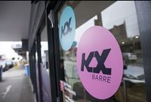 KX | MELBOURNE STUDIOS / KX Pilates and Barre classes are held at 12 locations around Melbourne. Visit our website for studio location, prices and bookings. DEFINE YOURSELF.