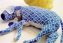 toys dolls textile sculptures