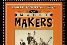 29 mai 2015 - Concert Rock'n'roll / Swing / Salle Garossos avec The Money Makers