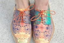 X Painted Shoes