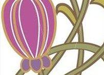 X Art Nouveau Design