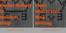 Blogging Tipps / Alles zum Thema Tipps für das richtige und erfolgreiche Bloggen  Blogger, Bloggen, gute Texte, kreativ sein, richtig Schreiben, Made By EvE - Wohndeko selbst gehäkelt