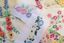 Broderies ...Embroidery