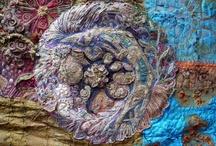 Ouvrages textiles... textile art