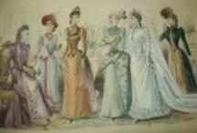 Dessins anciens de mode