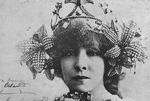 Sarah Bernhardt / Née en 1844, disparue en 1923, vedette de la Comédie Française.