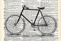 A bicyclette !! ...riding a bicycle ... / Quand on partait de bon matin, quand on allait sur les chemins ... à bicycletteeeee !