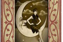 La lune qu'on voit danser le long des golfs clairs ... Moon
