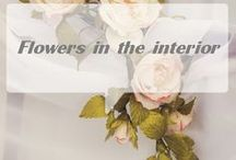 interior flower / Interior flower, home decoration, decoration for textiles, bouquet